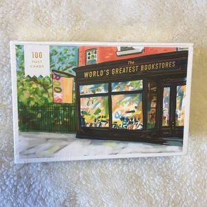 Other - NWT 100 greatest bookstores post cards set